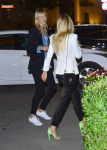 Anja Rubik met with Karolina Kurkova in Warsaw, Poland April 28-2015 x12
