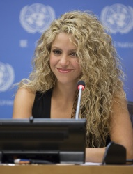 Shakira - Meeting of the Minds @ United Nations in NYC - 09/22/15