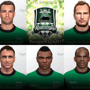 Download FC Krasnodar Facepack PES14 by kpt1