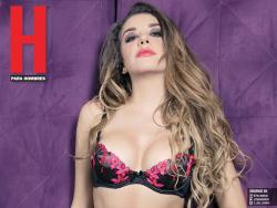 Karime de Acapulco shore Revista H Febrero 2017