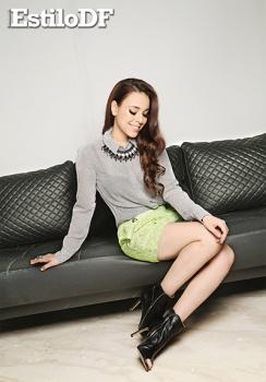Danna Paola sexy para Estilo DF Octubre 2014 [FOTOS] 10
