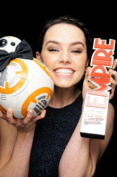 Daisy Ridley - Jameson Empire Awards 2016 Photobooth Session @ The Grosvenor House Hotel in London - 03/20/16