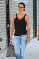 Jordana Brewster - Out in Soho, New York 7/18/17