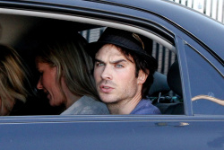 Ian Somerhalder - waves to photographers as he arrives at a private party in Rio - June 01, 2012 - 7xHQ L90XZBEH
