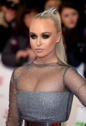 Jorgie Porter - 21st National Television Awards @ The O2 Arena in London - 01/20/16
