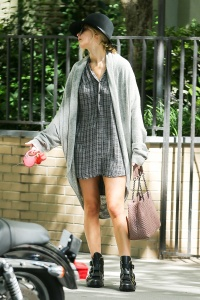 Jennifer Lawrence  out with her dog 13