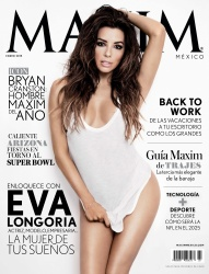 Eva Longoria in Maxim Mexico - January 2015