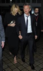 Sean Penn - Charlize Theron and Sean Penn - seen leaving Royal Festival Hall. London - February 16, 2015 (153xHQ) TO6VsVoB