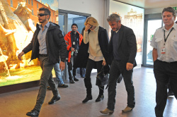 Sean Penn - Sean Penn and Charlize Theron - depart from Rome after a Valentine's Day weekend - February 15, 2015 (37xHQ) Sc8SmDEK