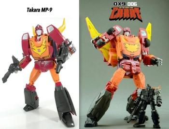 [DX9 Toys] Produit Tiers - Jouet D-06 Carry aka Rodimus et D-06T Terror aka Black Rodimus YgN8e9zf