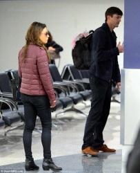 Mila Kunis - at LAX Airport 11/19/13