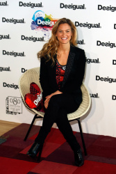 Bar Refaeli - presents 'We Love' By Desigual at Barcelona Fashion Week 1/29/13