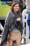 "Jessica Chastain - on the set of ""Molly's Game"" in Toronto 11/30/16"