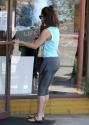 Vanessa Hudgens - at pilates class in Studio City 5/2/13