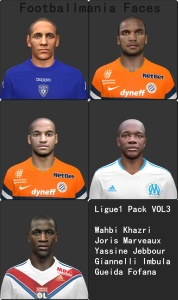 Download PES 2014 Ligue1 Pack vol.3 by Footballmania
