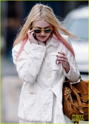 Dakota Fanning - out in NYC 4/4/13