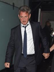 Sean Penn - Charlize Theron and Sean Penn - seen leaving Royal Festival Hall. London - February 16, 2015 (153xHQ) OEXhxS0P