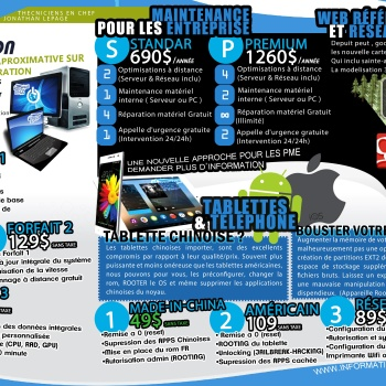 Informatique lepage recto