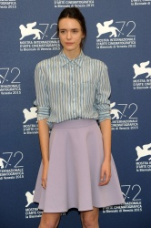 Stacy Martin - 72nd Venice Film Festival Taj Mahal Photocall in Venice - 09/10/15