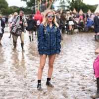 Ellie Goulding - Glastonbury Festival at Worthy Farm in Somerset 6/25/16