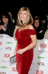 Kate Garraway - 21st National Television Awards @ The O2 Arena in London - 01/20/16