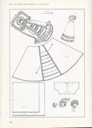 Вместо обещанной куклы - пока, Платья для кукол с выкройками.