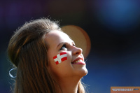 Девушка Евро 2012