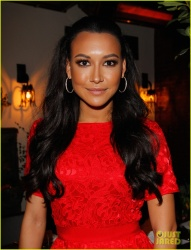 Naya Rivera - Allure's Look Better Naked Issue Celebration in LA 4/11/13