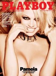 Link to Pamela Anderson – Playboy January-February 2016 USA