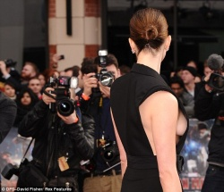 Rebecca Hall - 'Iron Man 3' premiere in London 4/18/13