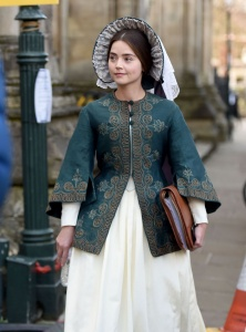 Jenna Louise Coleman - On The Set of Victoria in East Yorkshire - February 24th 2017