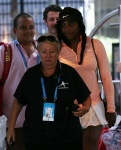 Serena Williams Seen leaving Crown Perth January 4-2016 x11