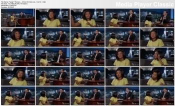 Taraji P Henson - Jimmy Kimmel Live - 9-4-14