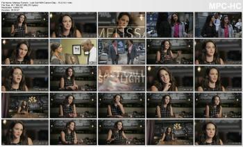 Melissa Fumero - Last Call With Carson Daly - 10-2-14