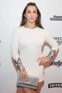 Aly Raisman - VIBES By SI Swimsuit 2017 Launch Festival in Houston - February 18th 2017