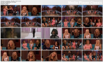 Tyra Banks - The View - 8-6-14