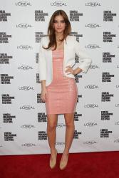 Barbara Palvin - L'Oreal Melbourne Fashion Festival Day 3 in Melbourne 3/20/13
