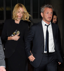 Sean Penn - Charlize Theron and Sean Penn - seen leaving Royal Festival Hall. London - February 16, 2015 (153xHQ) Pjm0Jfyt