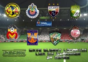 Download Wave Glossy Logopack Liga MX Bancomer