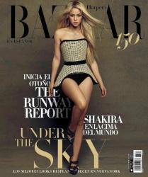 Shakira - Harpers Bazaar Mexico August 2017