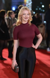 Dakota Blue Richards - The Danish Girl UK Premiere @ Odeon Leicester Square in London - 12/08/15
