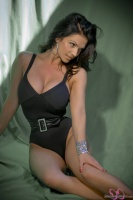 Дениз Милани, фото 5463. Denise Milani Belted One Piece :, foto 5463