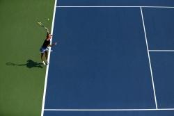 Alexandra Dulgheru - 2015 US Open Day Two: 1st Round vs. Angelique Kerber @ BJK National Tennis Center in Flushing Meadows - 09/01/15
