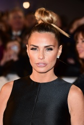 Katie Price - 21st National Television Awards @ The O2 Arena in London - 01/20/16