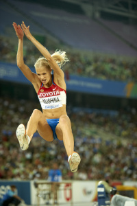 Дарья Клишина, фото 42. Darya Klishina 13th IAAF World Athletics Championship, Daegu, South Korea - 28.08.2011, foto 42