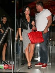 Demi Lovato - Leaving Katsuya 6/17/15