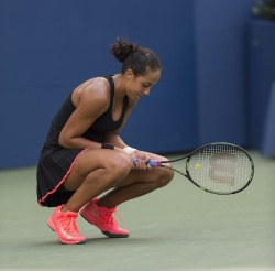 Madison Keys - 2015 US Open Day Seven: 4th Round vs. Serena Williams @ BJK National Tennis Center in Flushing Meadows - 09/06/15