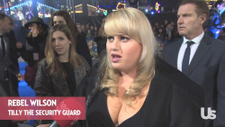 Rebel Wilson at the Night at the Museum: Secret of the Tomb Premiere in London - December 15, 2014