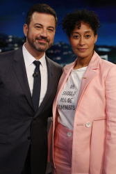 Tracee Ellis Ross - Jimmy Kimmel Live: May 8th 2017