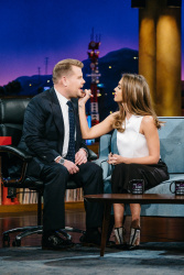 Jessica Alba - The Late Late Show with James Corden: November 30th 2016
